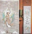 Bernat Joy to the World Cross Stitch Wallhanging Kit