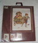 Lanarte Holland Counted Cross Stitch Children in Winter SEALED