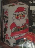 Kris Kringle Doorstop or Bookend Bernat Kit SEALED