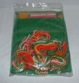Bucilla Christmas Needlecraft Holiday Patches Panel, Sealed