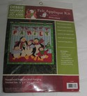 Peppermint Penguins Wall Hanging Kit NEW