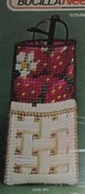 Bucilla Needlepoint Eyeglass Case Kit Strawberry Design SEALED