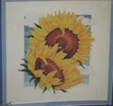 Nature's Window Sunflowers Cross Stitch Kit