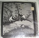Panda Family Vintage Needlepoint Kit SEALED