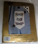 Something Special Cross Stitch Victorian Masks Banner Kit NEW