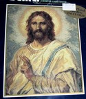 Bucilla Counted Cross Stitch Kit Christ's Image