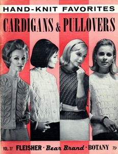 Cardigans and Pullovers - Hand-knit Favorites - Knitting Book