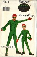 Butterick 4174 Boys Riddler Costume Pattern UNCUT