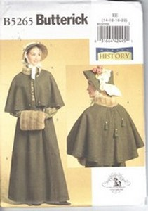 Butterick B5265 Victorian Costume Pattern NEW