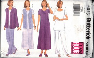 Butterick 6013 XL Separates Pattern UNCUT