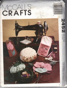McCall's 2452 Sewing Accessories Pincushion Pattern UNCUT