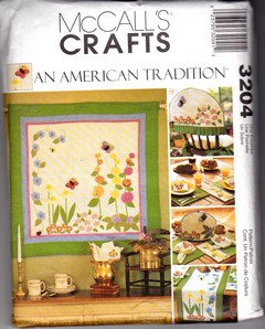 McCalls 3204 Quilt Runner Sewing Pattern UNCUT