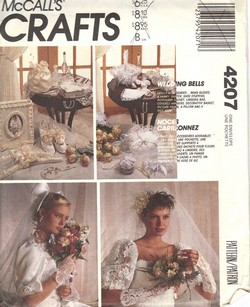 McCalls 4207 Wedding Bells Bridal Package Pattern UNCUT