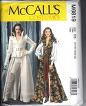 McCalls 6819 Gothic Fantasy Warrior Outifit Pattern UNCUT