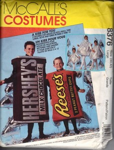 McCalls 8376 Candy Bar Costume Pattern