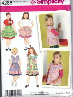 Simplicity 5201 - apron - Sewing classes, patterns and reviews for