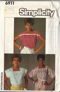 Simplicity 6911 Easy Sew Top Pattern
