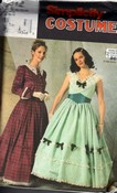 Simplicity 7312 Historical Civil War Dress Pattern UNCUT