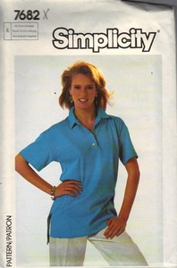 Simplicity 7682 Knit Top Pattern UNCUT