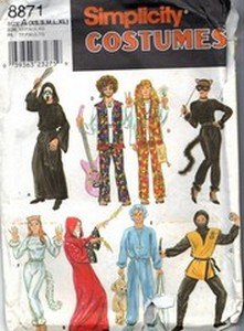Simplicity 8871 Adult Teen Costume Pattern Many Options UNCUT