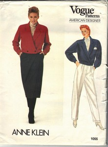 Vogue 1055 Anne Klein Suit Sewing Pattern