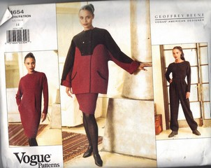 Vogue 1654 Beene Separates Pattern Size 14 UNCUT