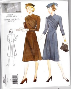 Vogue 2197 Reprint Dress Pattern Uncut