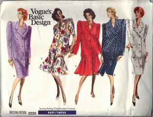 Vogue 2225 Basic Design Maternity Dress UNCUT