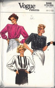 Vogue 9446 Blouse Pattern UNCUT