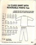 Ericson Design Sew 308 Pattern Top Pants UNCUT