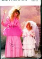 Butterick 6851 Girl's Fairy Princess Bride Costume Pattern