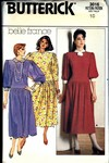 Butterick 3016 Size 10 Belle France Dress Pattern UNCUT