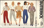 Butterick 3069 Size 10 Pants Shorts Pattern UNCUT