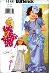 Butterick 3188 Girls Fancy Dress Costume Pattern UNCUT