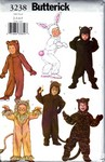 Butterick 3238 Boys Costume Pattern UNCUT