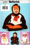 Butterick 3265 L-XL Toddler Costume Pattern UNCUT