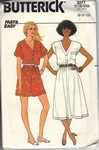 Butterick 3277 Jumpsuit Dress Pattern UNCUT