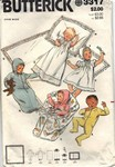 Butterick 3317 Infant Layette Pattern UNCUT
