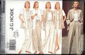 Butterick 3371 J G Hook Wardrobe Pattern UNCUT
