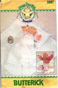 Butterick 3384 Cabbage Patch Preemie Christening Outfit UNCUT