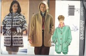 Butterick 3640 Jacket Pattern UNCUT