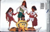 Butterick 3659 Girls Cheeleader Costume Pattern