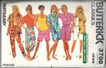 Butterick 3708 Summer Resort Wardrobe Pattern UNCUT