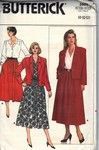 Butterick 3986 Jacket Skirt Blouse Pattern UNCUT