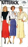 Butterick 4124 Straight Skirt Pattern UNCUT