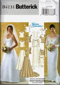 Butterick B4131 Bridal Pattern UNCUT
