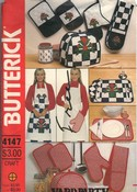 Butterick 4147 Apron Kitchen Accessories Pattern