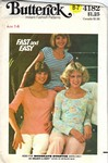Butterick 4182 T-Shirt Pattern