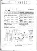 Butterick 5708 Retro '53 Dress Pattern E5 UNCUT