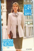 See Sew 5771 Jacket Blouse Skirt Pattern UNCUT